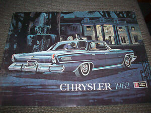 Chrysler Brochure 1962