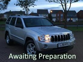 2008 (58) Jeep Grand Cherokee 3.0 CRD V6 Limited Automatic