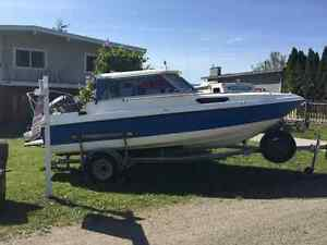 1994 campion hardtop boat with 2006 75 hp Yamaha outboard motor