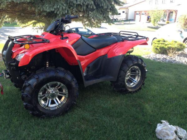 Used 2013 Honda 420 TRX FPE