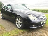 2005 Mercedes-Benz C Class 1.8 C160 Kompressor Sport Coupe 2dr Petrol Automatic
