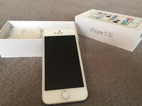Apple iPhone 5S 32gb white and grey like new