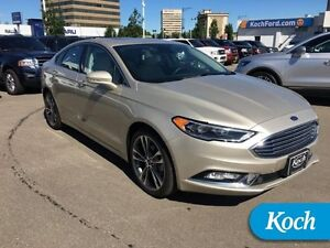 2017 Ford Fusion Titanium  0%/72mo Financing Available