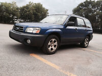 2003 Subaru Forester 2.5X automatic summer and winter tires