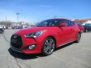 2017 Hyundai VELOSTER Turbo Navigation leather sunroof loaded! N