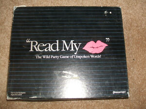 Read My Lips--Great Party game/activity-1990 London Ontario image 1