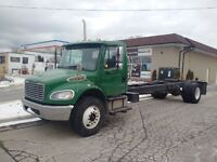 2010 Freightliner M2 35K GVW Cab & Chassis Air Ride