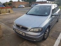 Vauxhall Astra - Silver, 2004, Petrol, 65k miles