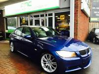 2007 BMW 330d M Sport 6 Speed Manual **LeMans Blue - Cream Leather - FSH**