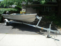 Runabout & Fishing Boat in excellent condition