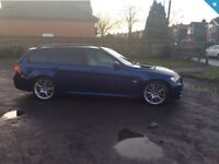BMW 320 TURBO DIESEL AUTOMATIC ESTATE M SPORT BUSINESS EDITION 59 PLATE