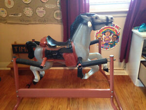 Bouncy Spring Rocking Horse
