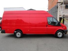 NO VAT Ford Transit 2.2TDCi LWB 155bhp T350 Jumbo high roof van 1 owner (57)