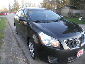 2009 Pontiac Vibe Hatchback Only 150 kms Loaded $4995