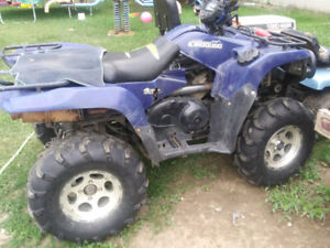 Wanted looking for a 2006 Suzuki kingquad for parts