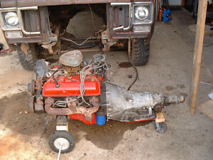 Used Chevy 350 engine and trans