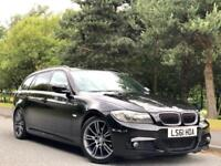 2011 BMW 3 Series 2.0 318d Sport Plus Touring 5dr Diesel Manual M Sport Black