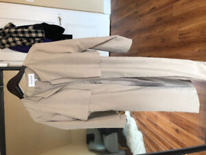 Cupcakes and Cashmere Beige Coat - never worn!