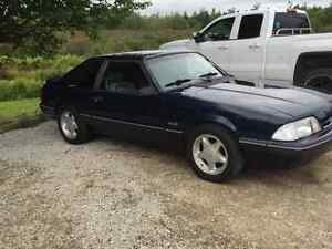 1989 mustang LX might do a trade for the right sled