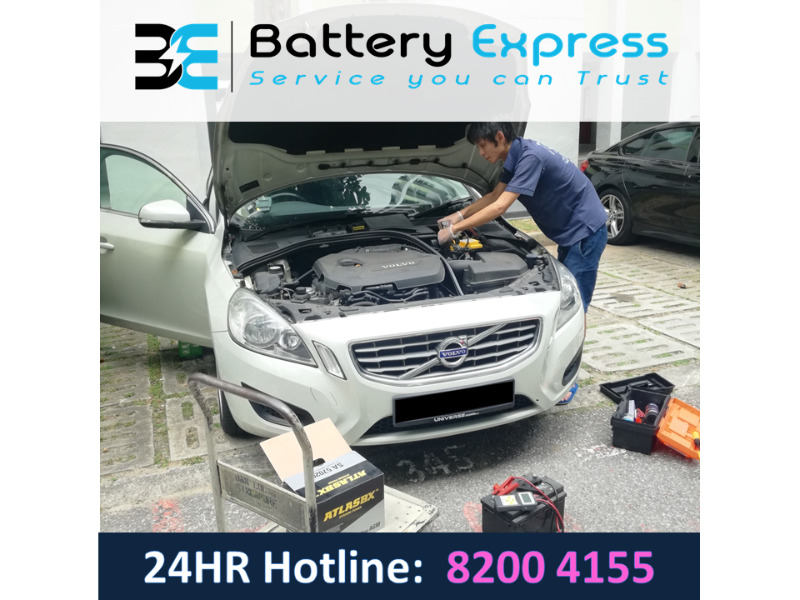 Battery Express 24/7 Car Battery Replacement Singapore
