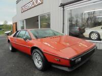 1978 Lotus Esprit S2 LHD LEFT HAND DRIVE** RESTORATION PROJECT HAS V5 LOG BOOK