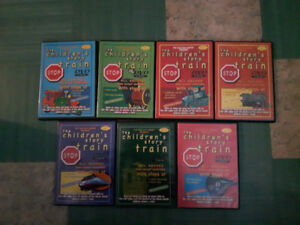 The Children's Story Train DVDs