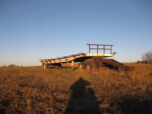 Hay wagons/semi flatdecks for sale Regina Regina Area image 2