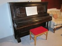 Antique Newcombe upright piano