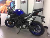 YAMAHA MT125 ABS 0% FINANCE DELIVERY ARRANGED P/X WELCOME