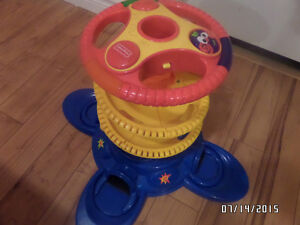Ball drop track musical toy