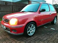2001 Nissan Micra 1.0 16v S, 16 service stamps, power steering,Low Mileage