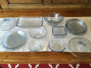 Fire King Sapphire Blue Philbe Dishes- bowls, pies, lids, more!