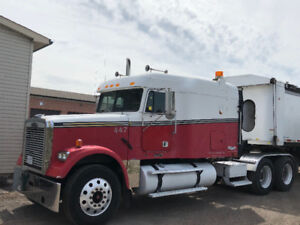 Freightliner 2004truck and 2012 trailor
