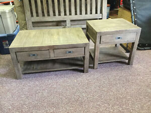 Reclaimed Pine Coffee & End Table