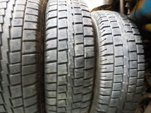 light truck tires like new LT 225/75/16 mud and snow