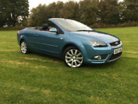 2007 Ford Focus CC 2.0 CC-3 CONVERTIBLE FULL LEATHER 1 PREVIOUS OWNER