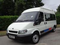 2006 FORD TRANSIT 300 MINIBUS 11 SEATER + HIGH TOP ROOF
