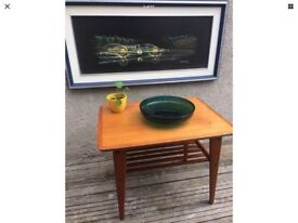 Mid Century Retro Teak Drinks Cocktail Trolley Mobler / Danish Style