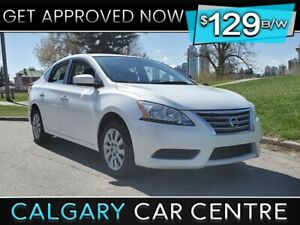 2015 Sentra SV $129B/W TEXT US FOR EASY FINANCING! 587-317-4200
