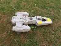 Star Wars original Y wing vintage toy. 1980s