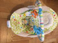 Bouncing cradle