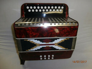Button Accordion 8 bass