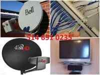 satellite installation Bell Dish network Fta