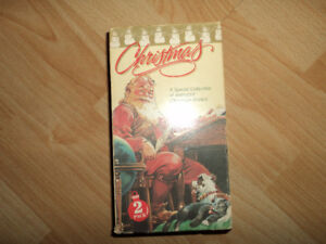 Vintage Christmas VHS Double Tape(s)