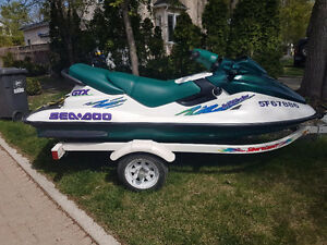 1997 Sea Doo with trailer