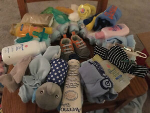 Boy's diaper wreath
