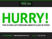 2010 60 MERCEDES-BENZ M CLASS 3.0 ML300 CDI BLUEEFFICIENCY SPORT 5D AUTO 204 BHP