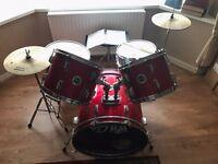5 piece drum kit beginner