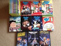 Family guy DVD Collection.