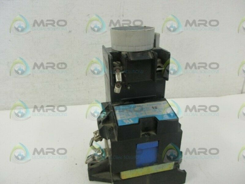 GOULD J20FTC18 CONTROL RELAY *USED*